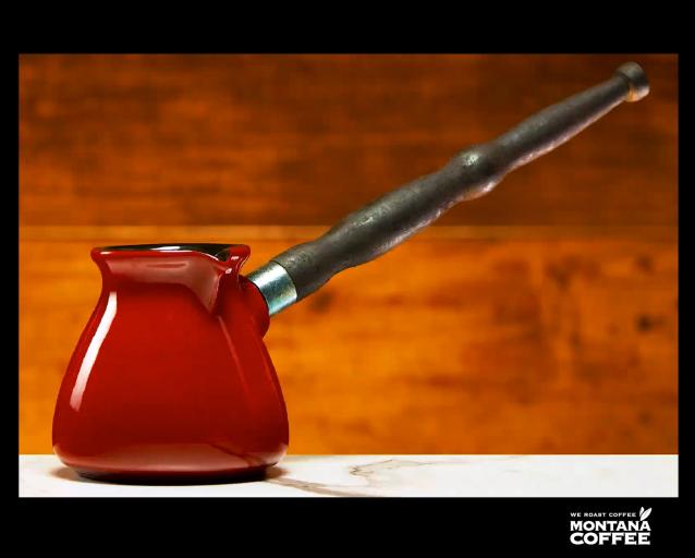 Турка Красная 350мл Innova Керамика